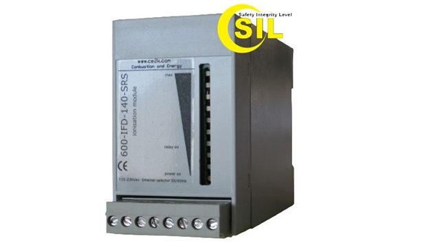 FLAME RELAY 600-IFD-140-SRS SIL 2